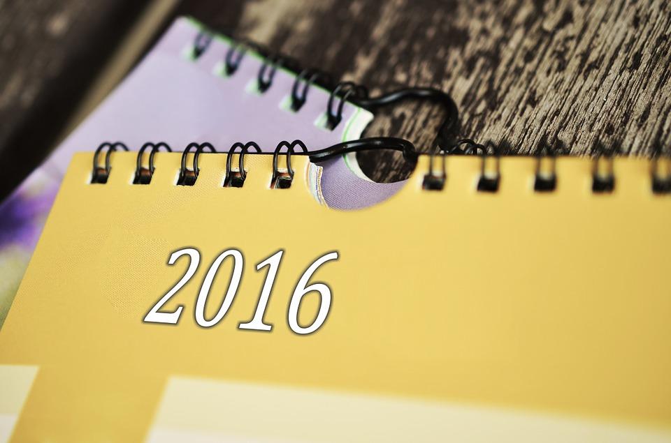 Année 2016 : Quelles sont vos bonnes résolutions ?