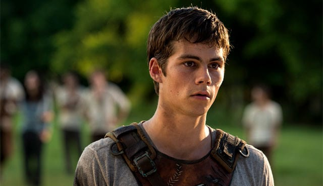 L'acteur Dylan O'Brien / Capture The Maze Runner