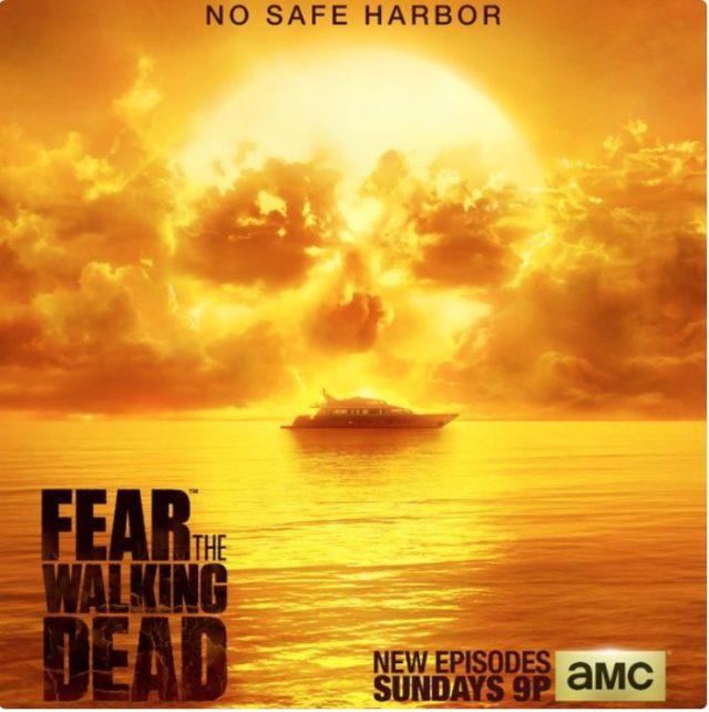 Capture poster Fear The Walking Dead saison 2