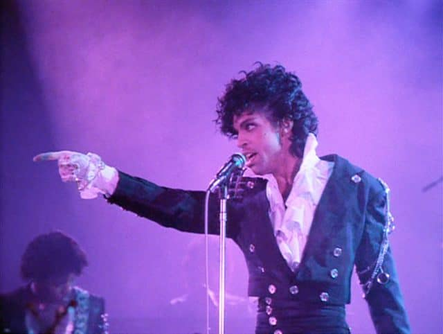 Le chanteur Prince en concert / Capture Youtube