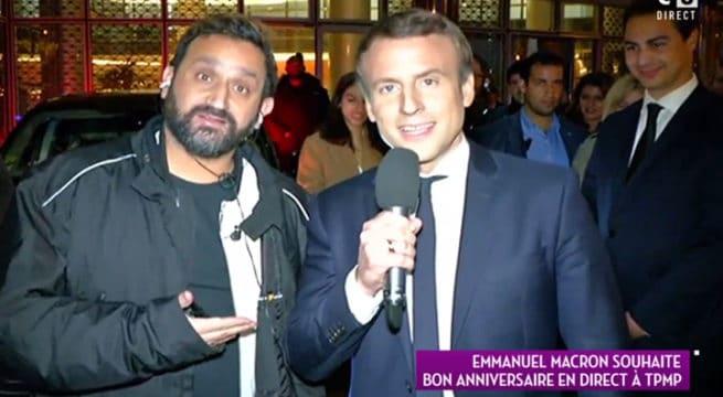 Emmanuel Macron Quitte Tf1 Et Souhaite Un Bon Anniversaire A Touche