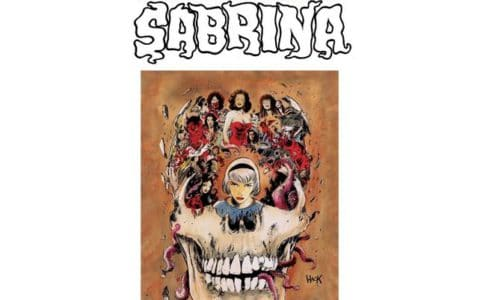 Capture Twitter Roberto Aguirre Sacasa : The Chilling Adventures of Sabrina
