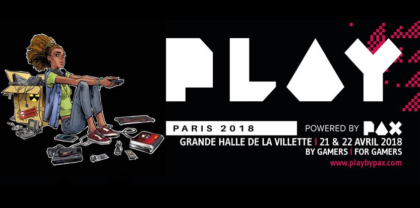 Play Paris : Le festival dédié à l'univers des jeux vidéo débarque à la Grande halle de la Villette !