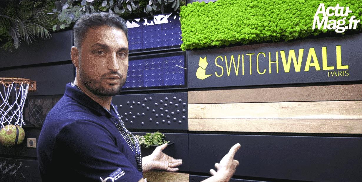 Foire de Paris : Switchwall, un mur transformable à souhait !