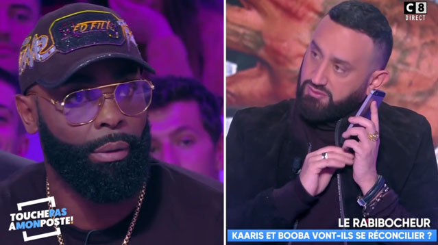 Kaaris piégé par Cyril Hanouna dans TPMP qui appelle Booba en direct