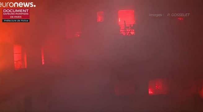 Incendie à Paris : sept morts, un blessé grave | Europe
