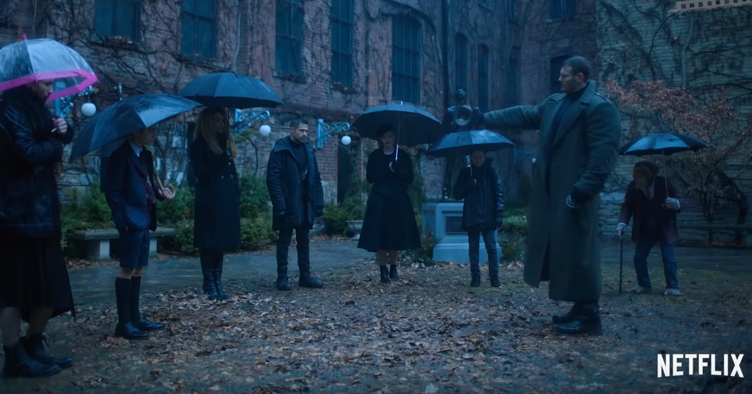 Capture youtube Umbrella Academy Netflix