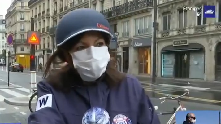 Déconfinement. La maire de Paris, Anne Hidalgo, invite les parisiens à se déplacer à vélo