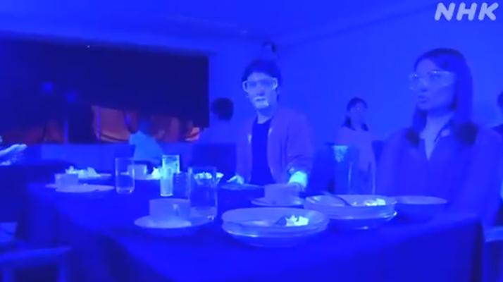 Japon. Regardez cette expérience qui montre comment se propage rapidement le coronavirus