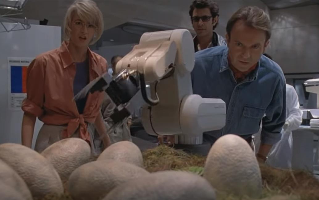 Capture Youtube Alan, Ellie, Ian Jurassic Park 1