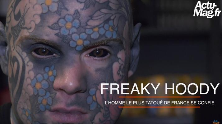 (Reportage) Freaky Hoody : L'enseignant le plus tatoué de France se confie