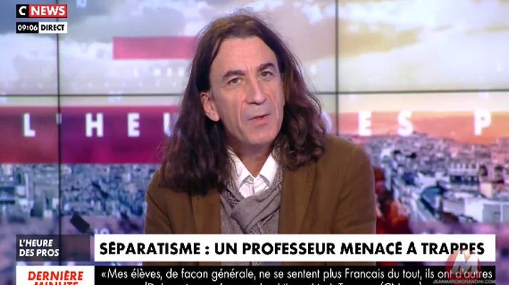 Didier Lemaire, professeur de philo à Trappes vit sous escorte policière pour avoir défendu Samuel Paty