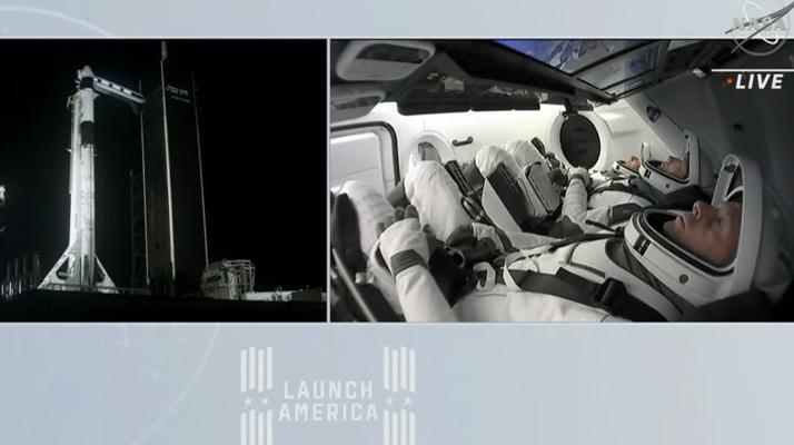 SpaceX : Décollage réussi pour l'astronaute Thomas Pesquet qui est désormais en orbite