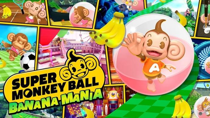 SEGA dévoile les mondes merveilleux de Super Monkey Ball Banana Mania !