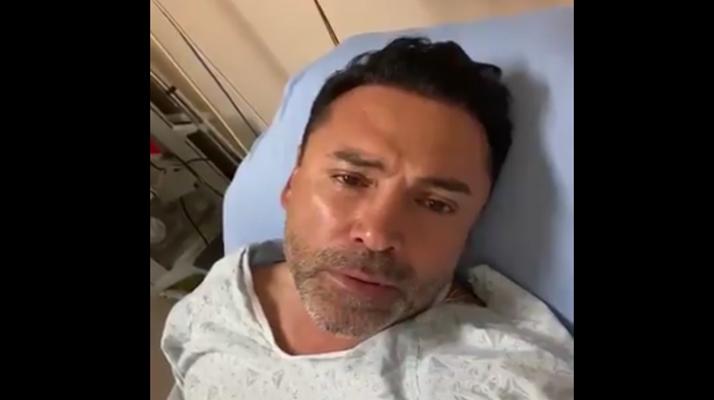 Le boxeur Oscar De La Hoya, pourtant vacciné a été hospitalisé après avoir été testé positif au Covid-19 : « Je me sens mal mal mal… »