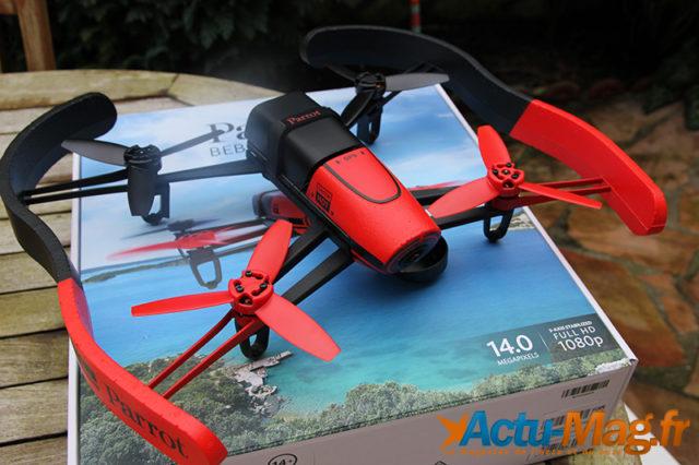Le Drone Parrot Bebop / Photo Actumagfr