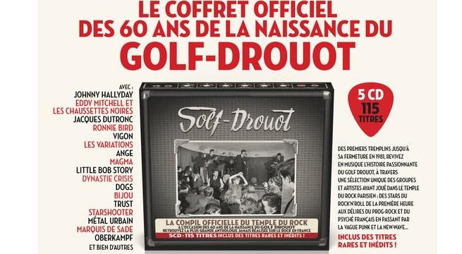 Le coffret officiel Golf-Drouot / Via CP