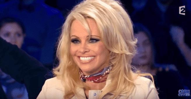 Pamela Anderson/ Capture YouTube ONPC France 2