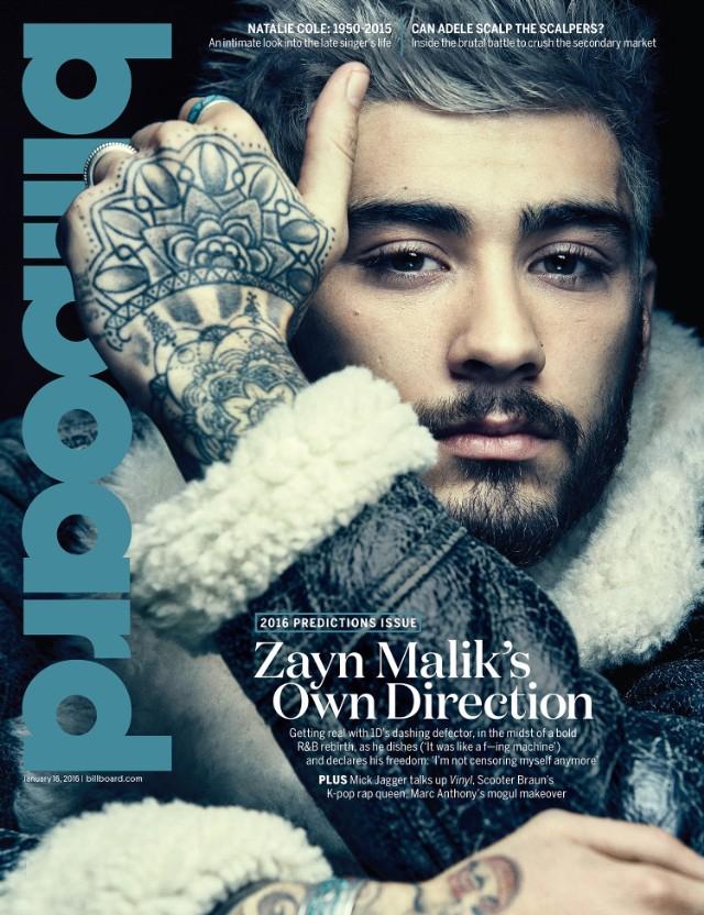 Zayn Malik fait la couverture du magazine Billboard / Via CP