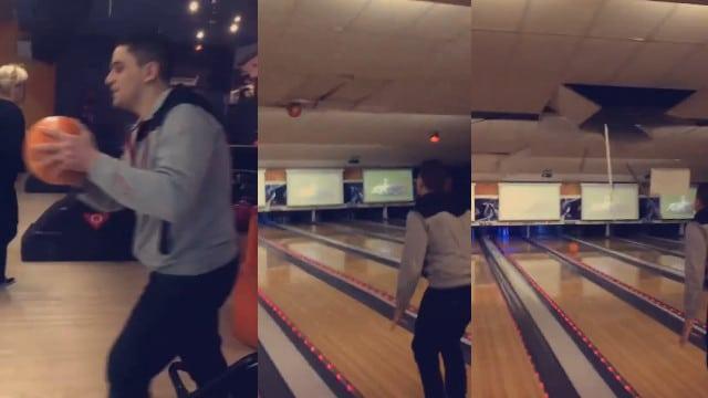 Un jolie fail au Bowling / Capture Facebook