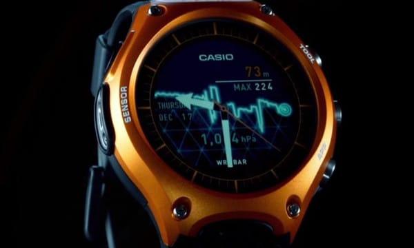 La toute première montre connectée de chez Casio, la Smart Outdoor Watch