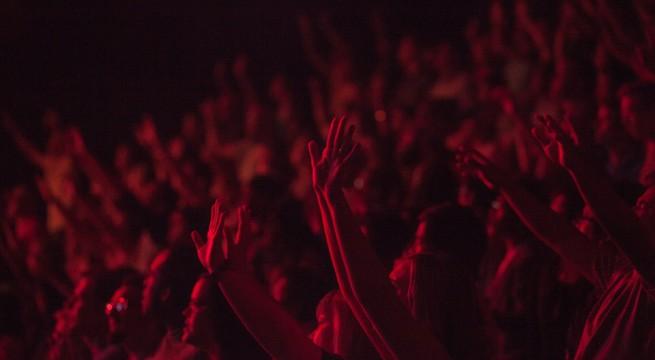 Illustration de spectateurs lors d'un festival / Pixabay