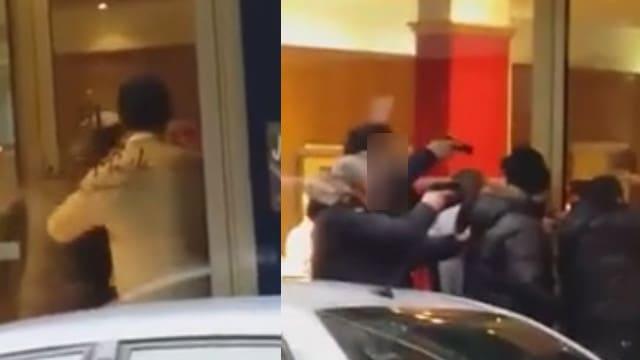 Des braqueurs appréhendés par la police à paris / Capture Youttube