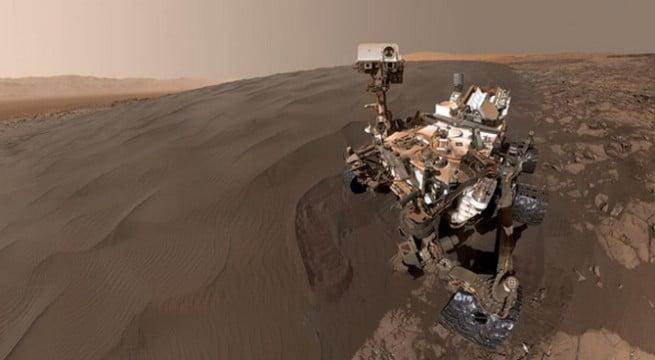 Le robot de la Nasa, Curiosity sur Mars / Capture Instagram Nasa