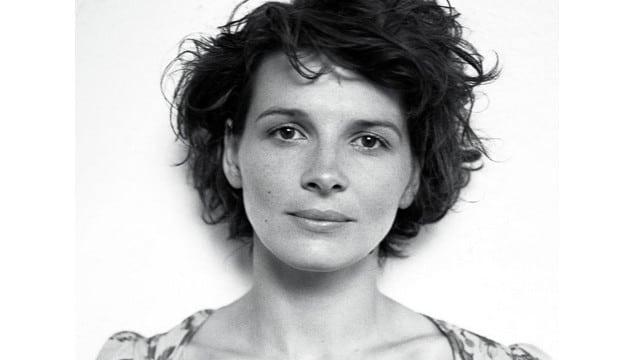 L'actrice Juliette Binoche / Capture Affiche César