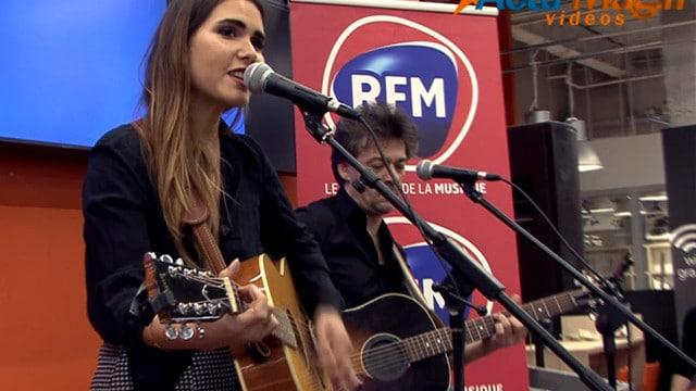 La chanteuse Joyce Jonathan au Cultura de Sainte-Geneviève-des-Bois / Crédits : J.R ©Actu-Mag.fr