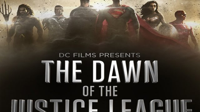 Affiche Cover The Dawn Of The Justice League