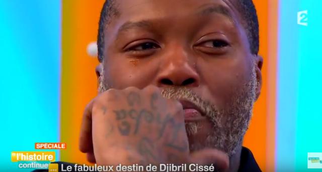Djibril Cissé / Capture YouTube Toute une histoire France 2