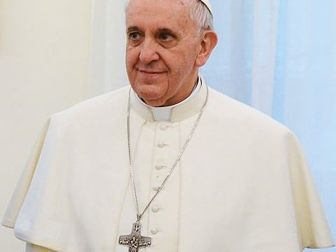 Le Pape François /   CC-BY-SA-2.0 Attribution: Casa Rosada (Argentina Presidency of the Nation)