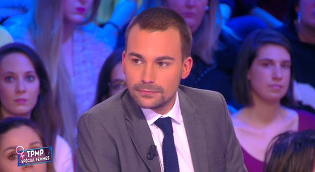 Le chroniqueur Bertrand Chameroy / Capture D8 TPMP