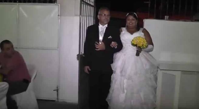 Les mariés qui risquent de détester leur DJ / Capture Youtube