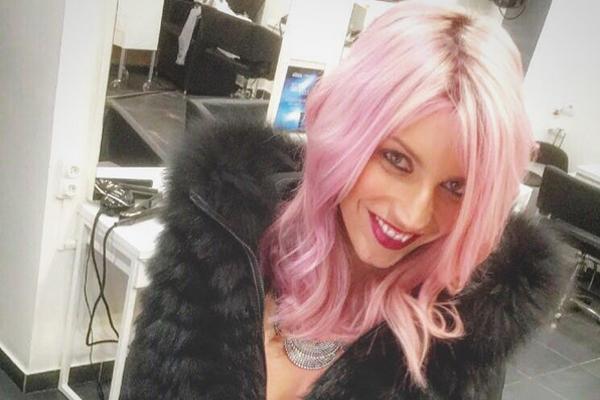Nadège Lacroix change de look / Capture Instagram