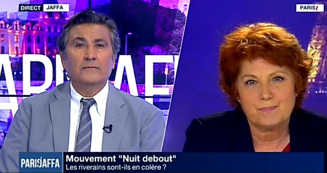 Paul Amar et Véronique Genest / Capture Dailymotion I24News