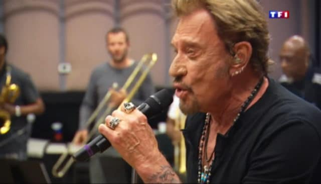 Johnny Hallyday / Capture TF1