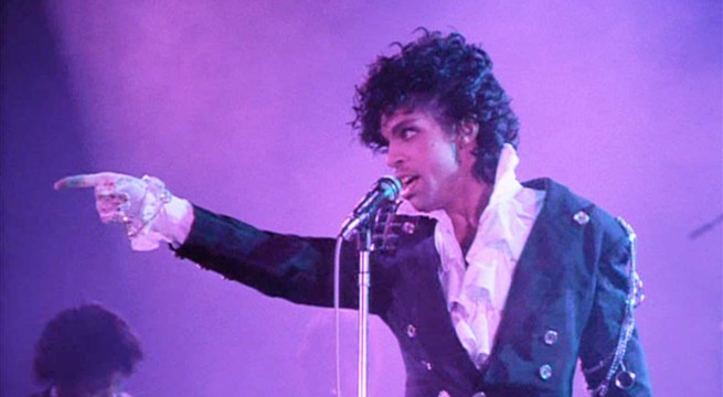 Le chanteur Prince en concert / Capture Youtube