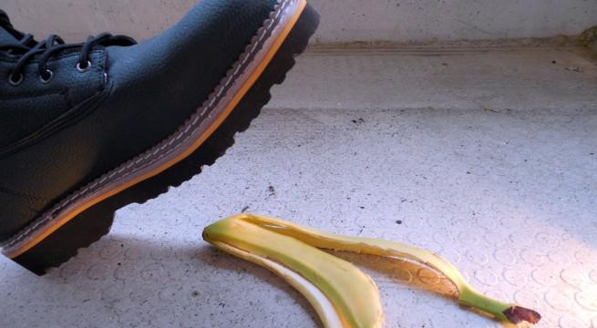 Illustration du Banana Peel Challenge / Pixabay