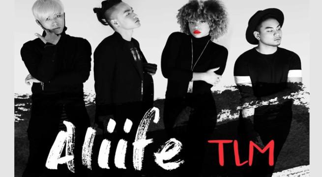 Le groupe K-pop français ALIIFE / Photo Via Rise up