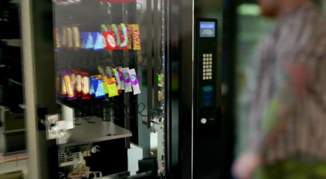 Une animation en 3D permettant de mieux comprendre le fonctionnement des distributeurs automatiques / Capture Youtube