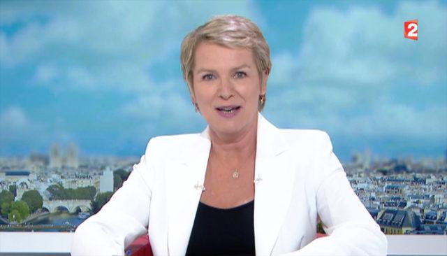 Elise Lucet lors de son dernier JT sur France télévision / Capture France 2