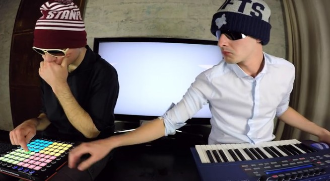 Le groupe French Fuse (Jerry Manoukian et Benjamin Lasbleis) / Capture Youtube