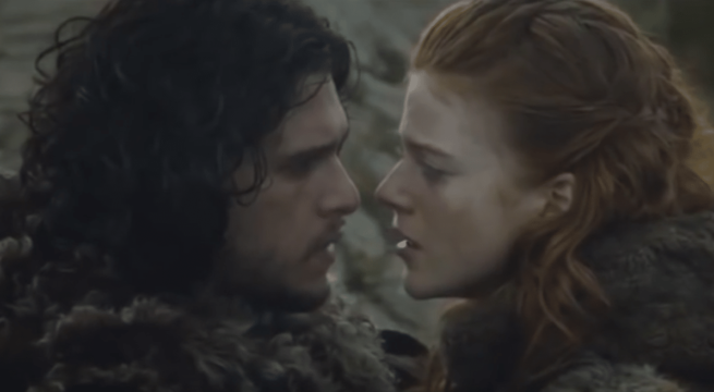 Jon Snow et Ygritte / Capture Youtube Game of Thrones HBO