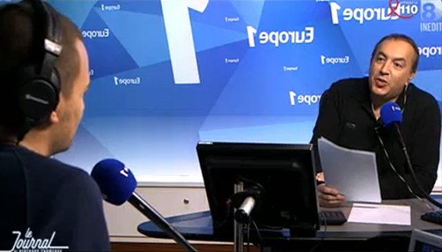 Extrait de la confrontation entre Bertrand Chameroy et Jean-marc Morandini dans la séquence diffusée sur D8 / Capture D8