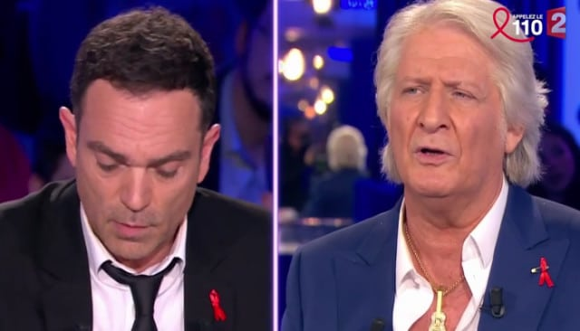 Patrick Sébastien se clash avec Yann Moix / Capture Youtube ONPC France 2
