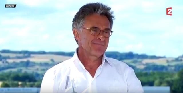 Gérard Holtz / Capture France Télévisions