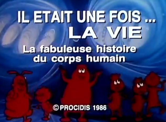 """Générique du dessin animé, """"Il Était une fois la vie"""" / Capture Youtube"""