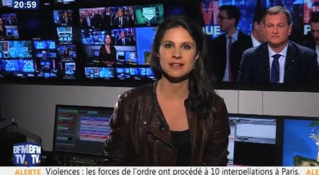 Apolline de Malherbe lance des insultes sur BFMTV / Capture BFMTV